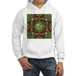 Celtic Dragon Labyrinth Hooded Sweatshirt