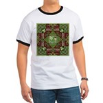 Celtic Dragon Labyrinth Ringer T