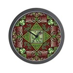 Celtic Dragon Labyrinth Wall Clock