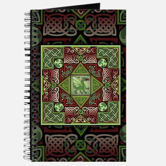 Celtic Dragon Labyrinth Journal