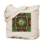 Celtic Dragon Labyrinth Tote Bag