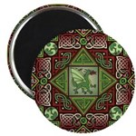 Celtic Dragon Labyrinth Magnet