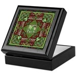 Celtic Dragon Labyrinth Keepsake Box