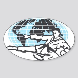 Gojuryu Network Oval Sticker