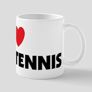 I Love Table Tennis Mug