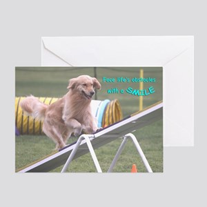 Golden Retriever Birthday Card 'Smile'