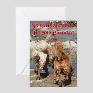Golden Retriever Birthday Card 'Mud'