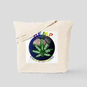 Hemp Planet Tote Bag