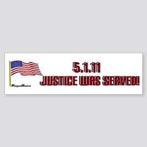 5.1.11 Justice Sticker (Bumper)