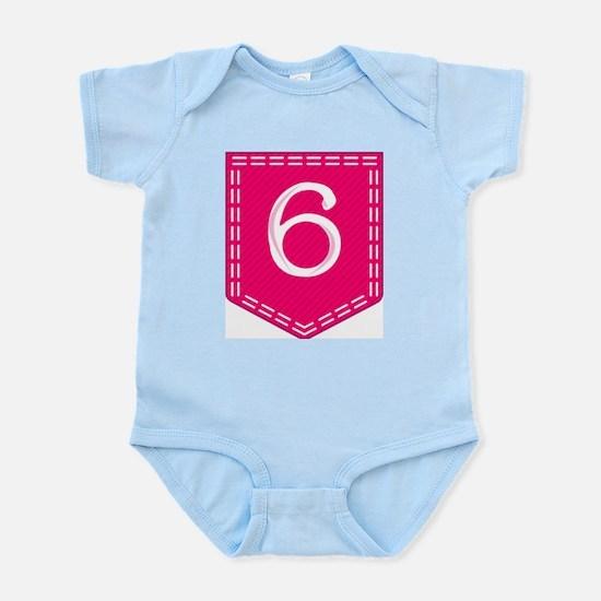 Number 6 Pocket Body Suit