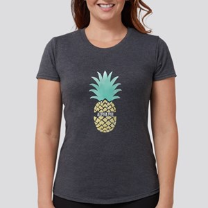 Alpha Phi Pineapple Womens Tri-blend T-Shirt