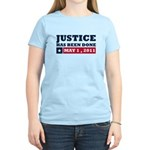 Justice Has Been Done Women's Light T-Shirt