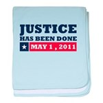 Justice Has Been Done baby blanket