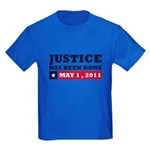 Justice Has Been Done Kids Dark T-Shirt