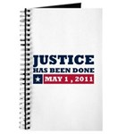 Justice Has Been Done Journal