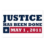 Justice Has Been Done Postcards (Package of 8)