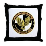 Minuteman Border Patrol Throw Pillow
