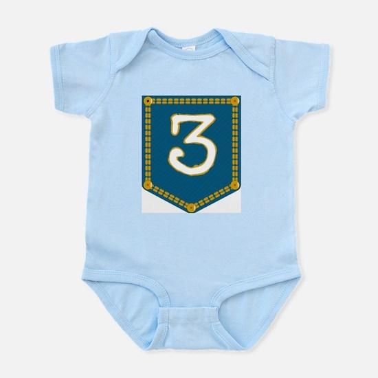 Number 3 Pocket Body Suit