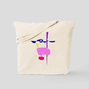 A Pink Fruit Tote Bag