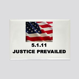 Justice Prevailed Rectangle Magnet