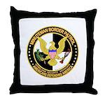 Minuteman Border Patrol Throw Pillow