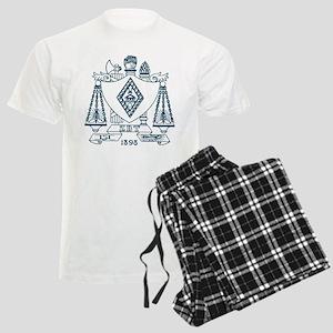 Zeta Beta Tau Fraternity Cres Men's Light Pajamas