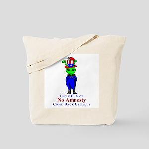 Come Back Legally Tote Bag