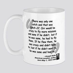 Heller Catch-22 Quote Mug