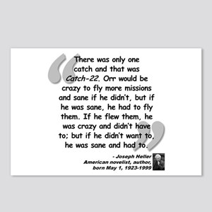 Heller Catch-22 Quote Postcards (Package of 8)
