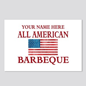 All American BBQ Postcards (Package of 8)