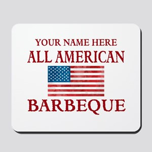 All American BBQ Mousepad