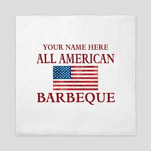 All American BBQ Queen Duvet