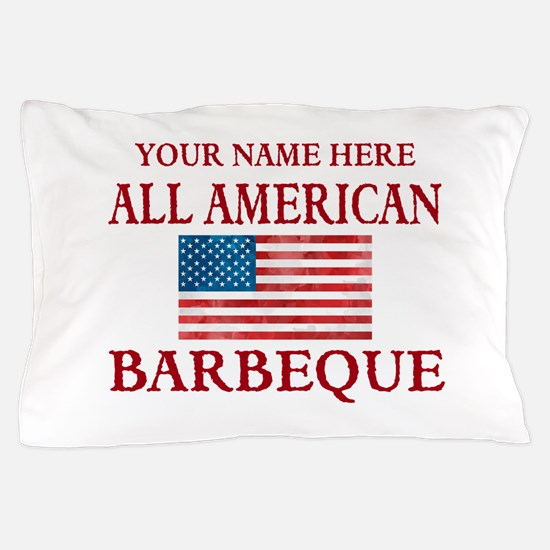 All American BBQ Pillow Case