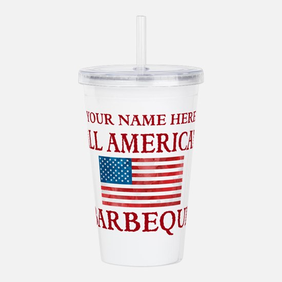 All American BBQ Acrylic Double-wall Tumbler
