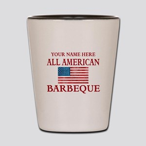 All American BBQ Shot Glass