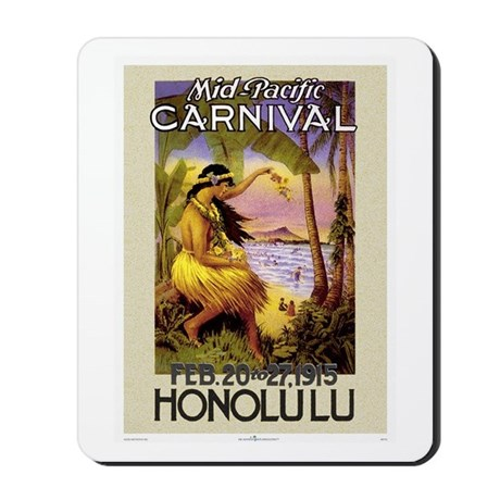 'Mid-Pacific Carnival' Mousepad