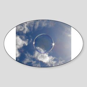 Beautiful Bubbles 02 Sticker (Oval)