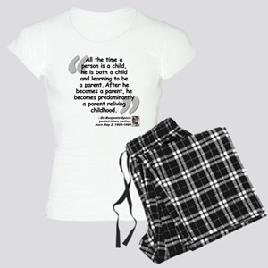 Spock Parent Quote Women's Light Pajamas