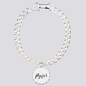 Fly Girl Charm Bracelet, One Charm