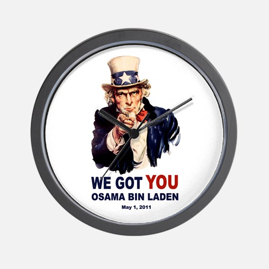 We Got You Osama Bin Laden Wall Clock