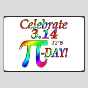 Celebrate Pi Day Banner