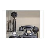 Vintage bakelite candlestick telephone Postcards (