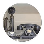 Vintage bakelite candlestick telephone Round Car M