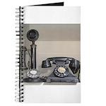 Vintage bakelite candlestick telephone Journal