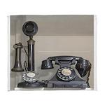 Vintage bakelite candlestick telephone Arctic Flee