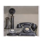 Vintage bakelite candlestick telephone Plush Fleec