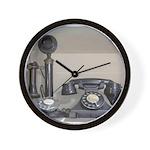 Vintage bakelite candlestick telephone Wall Clock