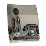 Vintage bakelite candlestick telephone Burlap Thro