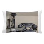 Vintage bakelite candlestick telephone Pillow Case