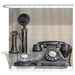 Vintage bakelite candlestick telephone Shower Curt